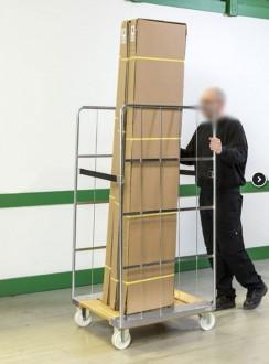 Chariot roll socle en bois - Devis sur Techni-Contact.com - 2