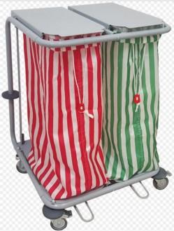 Chariot sac à linge et déchet - Devis sur Techni-Contact.com - 3