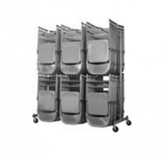 Chariot transport chaises en acier - Devis sur Techni-Contact.com - 1