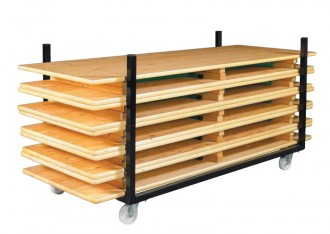 Chariot transport tables rectangulaires - Devis sur Techni-Contact.com - 1