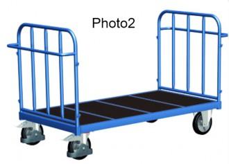 Chariot tubulaire pour charges lourdes - Devis sur Techni-Contact.com - 2