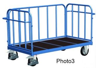 Chariot tubulaire pour charges lourdes - Devis sur Techni-Contact.com - 3