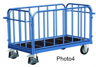Chariot tubulaire pour charges lourdes - Devis sur Techni-Contact.com - 4