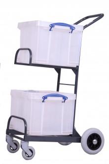 Chariots de distribution 2 corbeilles manutention légère - Devis sur Techni-Contact.com - 1
