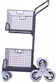Chariots de distribution 2 corbeilles manutention légère - Devis sur Techni-Contact.com - 3