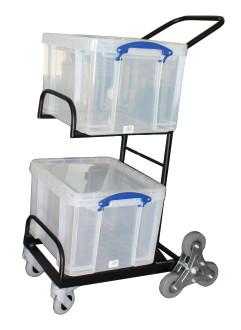 Chariots de distribution 2 corbeilles manutention légère - Devis sur Techni-Contact.com - 4