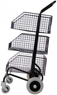 Chariots de distribution 3 corbeilles - Devis sur Techni-Contact.com - 1