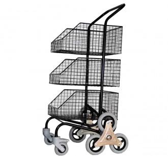 Chariots de distribution 3 corbeilles - Devis sur Techni-Contact.com - 2
