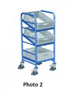 Chariots porte bacs plastique - Devis sur Techni-Contact.com - 2
