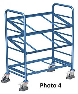 Chariots porte bacs plastique - Devis sur Techni-Contact.com - 4