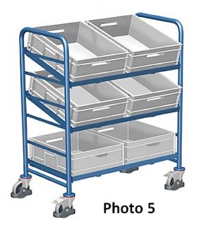 Chariots porte bacs plastique - Devis sur Techni-Contact.com - 5