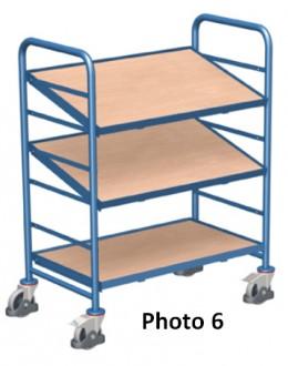 Chariots porte bacs plastique - Devis sur Techni-Contact.com - 6