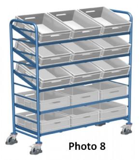 Chariots porte bacs plastique - Devis sur Techni-Contact.com - 8