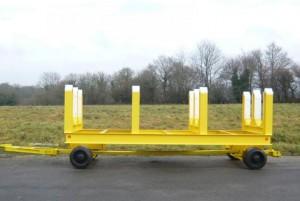 Châssis squelette pour remorque industrielle 16 tonnes - Devis sur Techni-Contact.com - 1