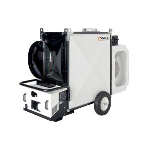 Chauffage air pulsé mobile fuel ou gaz - Devis sur Techni-Contact.com - 1