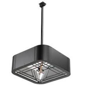 chauffage infrarouge lustre 1800 - 2000 watt - Devis sur Techni-Contact.com - 3