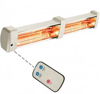 Chauffage mural infrarouge double - Devis sur Techni-Contact.com - 1