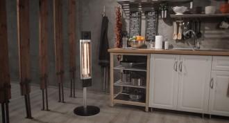 Chauffage radiant infrarouge sur pied 1700 watt - Devis sur Techni-Contact.com - 3