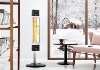 Chauffage radiant infrarouge sur pied 1700 watt - Devis sur Techni-Contact.com - 4
