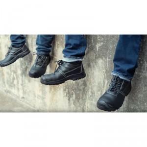 Chaussure cuir noire basse de protection - Devis sur Techni-Contact.com - 2