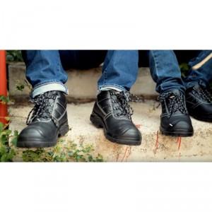 Chaussure cuir noire basse de protection - Devis sur Techni-Contact.com - 3