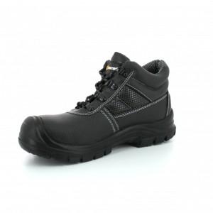 Chaussure cuir noire haute de protection - Devis sur Techni-Contact.com - 2