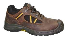 Chaussure de sécurité basse en cuir avec cordura - Devis sur Techni-Contact.com - 1