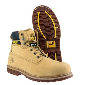 Chaussures de sécurité Caterpillar Holton miel - Devis sur Techni-Contact.com - 1