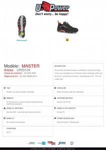Chaussure de sécurité souple, cuir - Devis sur Techni-Contact.com - 4