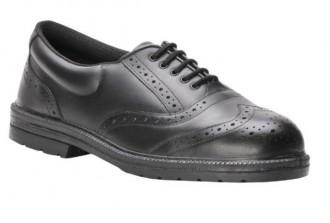 Chaussure de travail basse en cuir - Devis sur Techni-Contact.com - 1