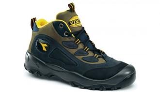 Chaussure haute de sécurité avec semelle en acier - Devis sur Techni-Contact.com - 1