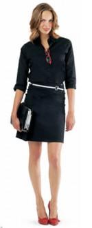 Chemise femme stretch manches 3/4 personnalisable - Devis sur Techni-Contact.com - 1