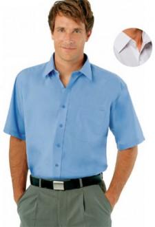 Chemise homme popeline manches courtes - Devis sur Techni-Contact.com - 1