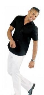 Chemise homme stretch manches courtes personnalisable - Devis sur Techni-Contact.com - 1
