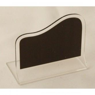 Chevalet ardoisine de table transparent - Devis sur Techni-Contact.com - 1
