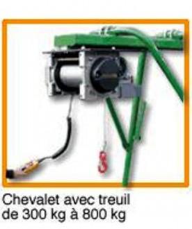Chevalet avec treuil 800 kg - Devis sur Techni-Contact.com - 1