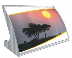 Chevalet d'affichage polycarbonate - Devis sur Techni-Contact.com - 1