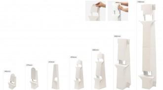 Chevalet de sol en carton - Devis sur Techni-Contact.com - 2