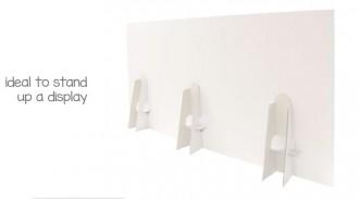 Chevalet de sol en carton - Devis sur Techni-Contact.com - 3