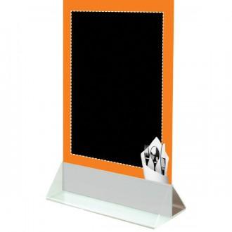 Chevalet de table à socle blanc - Devis sur Techni-Contact.com - 1
