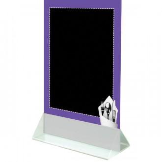 Chevalet de table à socle blanc - Devis sur Techni-Contact.com - 2