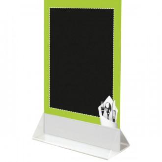 Chevalet de table à socle blanc - Devis sur Techni-Contact.com - 3
