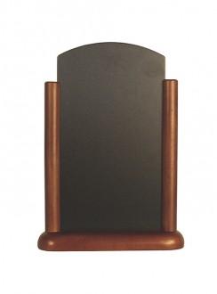 Chevalet de table en bois marron - Devis sur Techni-Contact.com - 1