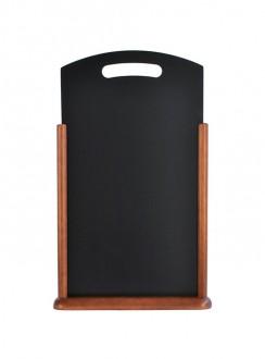 Chevalet de table en bois marron - Devis sur Techni-Contact.com - 3