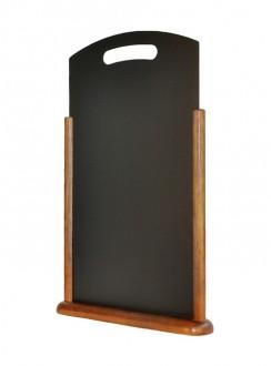 Chevalet de table en bois marron - Devis sur Techni-Contact.com - 4