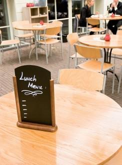 Chevalet de table en bois marron - Devis sur Techni-Contact.com - 6