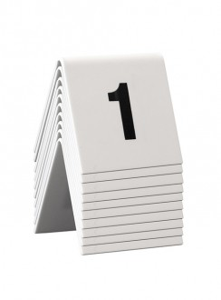 Chevalet de table numérotés - Devis sur Techni-Contact.com - 1