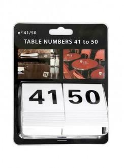 Chevalet de table numérotés - Devis sur Techni-Contact.com - 3