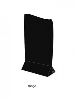 Chevalet de table PVC noir - Devis sur Techni-Contact.com - 1
