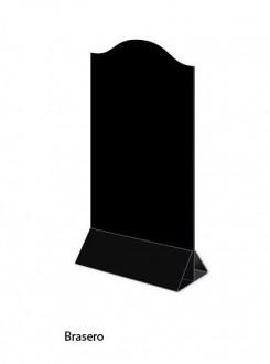 Chevalet de table PVC noir - Devis sur Techni-Contact.com - 2